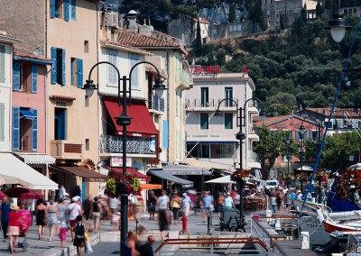 1106 Cassis, France harbor