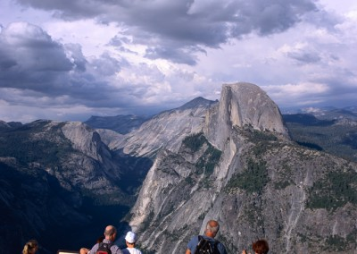 1199 The view from Glacier Point, Yosemite Valley