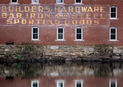 1217 Old building, Penobscot River, Maine