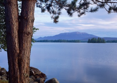 1279 Millinocket Lake & Mount Katahdin, Maine Woods