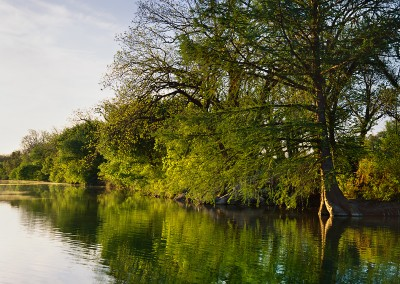 1452 Pedernales River at sunrise, LBJ Ranch, Stonewall, Texas