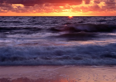 1458, Sunrise over Atlantic Ocean, Cape Cod