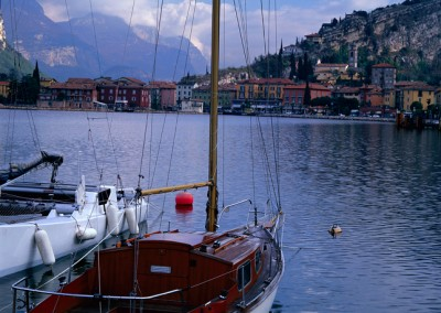 225 Sailboat on Lago di Garda, Torbole, Italy