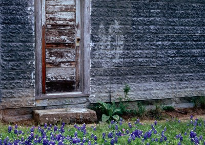 543 Bluebonnets, one-room schoolhouse, Texas Hill Country