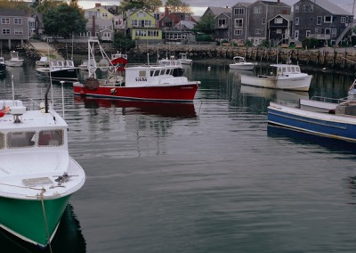 599 Rockport, MA boats in harbor
