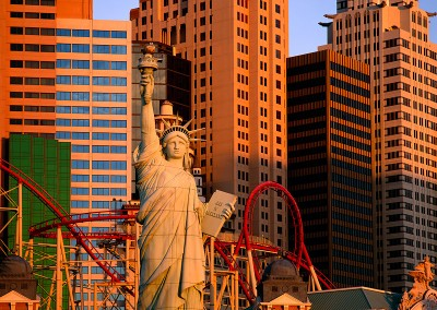 600 Las Vegas cityscape, early morning