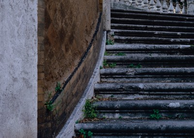 616 Stairs in a Rome park