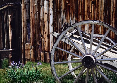 642 Old wagon, Bodie, California ghost town