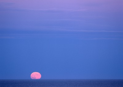 669 Full moon rising, Atlantic Ocean, Cape Cod