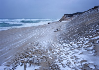 690 Winter storm, Cape Cod