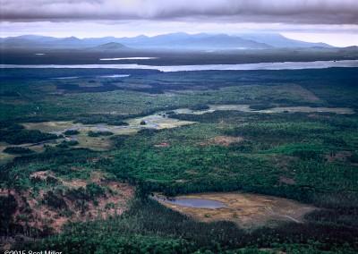 838 Maine Woods aerial
