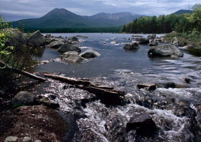 841 Katahdin Lake outlet, Baxter State Park, Maine Woods