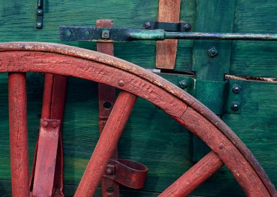 980 Chuck wagon detail, LBJ Ranch, Stonewall, Texas