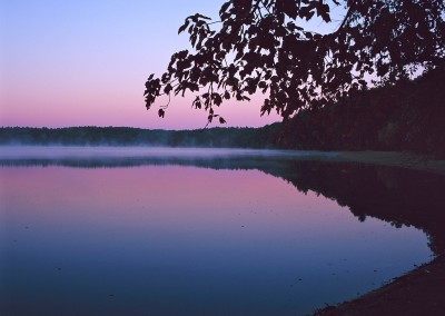 256 Dawn's glow, Walden Pond