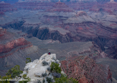 01094 Solitude, Grand Canyon National Park, Arizona