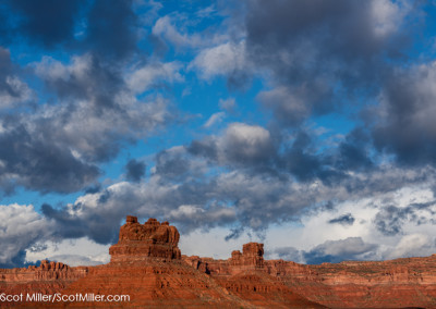 01153 Valley of the Gods landscape, Utah