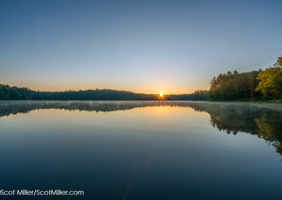 08930 First light, Walden Pond, Concord, MA