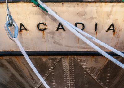 04981 CSS Acadia detail, Halifax, Nova Scotia, Canada