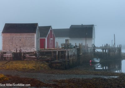 05198 Fishing Shacks, Blue Rocks, Lunenburg, NovaScotia, Canada
