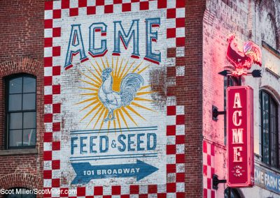 06858 Acme Feed & Seed signs, Broadway Street, Nashville, TN