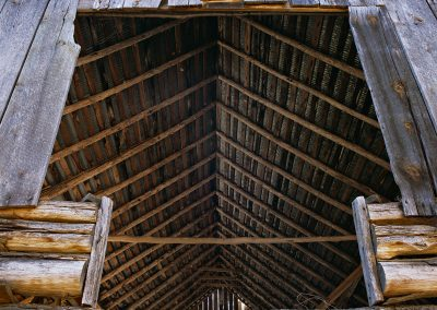 1060 Histopric barn detail, Buffalo National River, AR