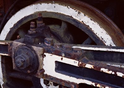 1146  Steam Locomotive gear detail, Eureka Springs, AR