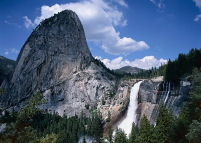 141 Nevada Fall and Liberty Cap, Yosemite National Park