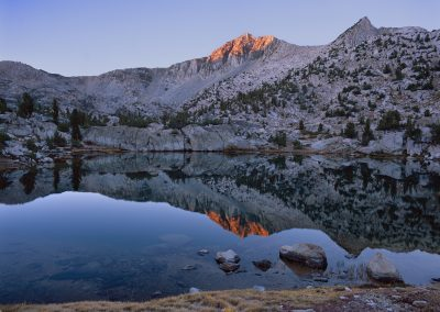 1448 First light, Kings Canyon National Park wilderness, CA
