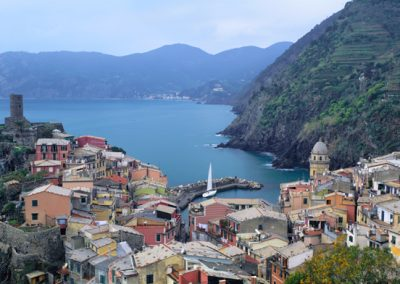 231 Above Vernazza, Cinque Terra region of Italy, PANORAMA