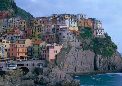 235 Manarola, in the Cinque Terra region of Italy, PANORAMA