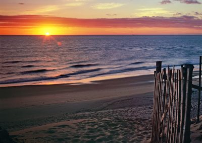 672 Daybreak over the Atlantic Ocean, Cape Cod National Seashore, MA