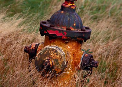 797 Old fire hydrant at aboned Air Force base, Cape Cod, MA