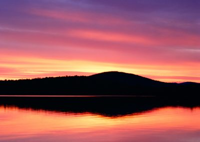 867 Dawn, Katahdin Lake, Baxter State Park, Maine (vertical)