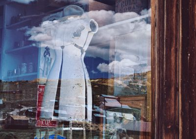 641 Store window, Bodie, California ghost town