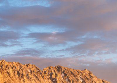 09305 Late afternoon light, John Muir Wilderness, Sierra Nevada Mountains, CA