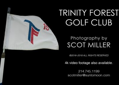 Trinity Forest Golf Club photography & videography by Scot Miller
