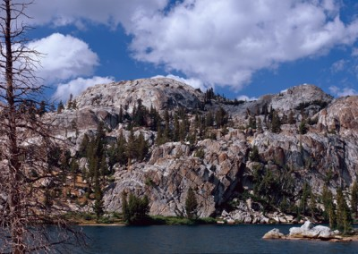 1037 High Sierra lake, Yosemite wilderness