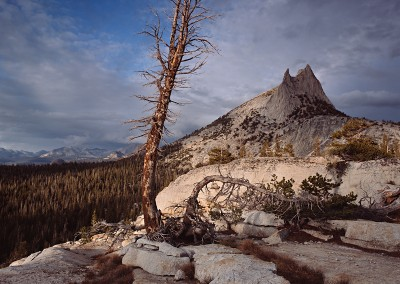 1125 Cathedral Peak, clearing storm, Yosemite wilderness