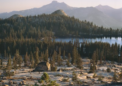 1463 High SIerra lake, Yosemite wilderness